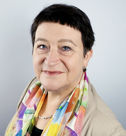 Kuvassa Ulla-Maija Forsberg. Kuva: Sonja Holopainen.
