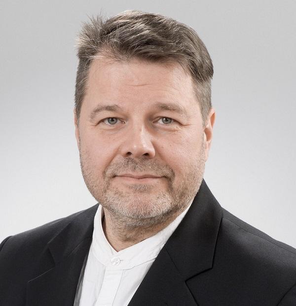 Kuvassa Jarno Saarti. Kuva: Raija Törrönen.