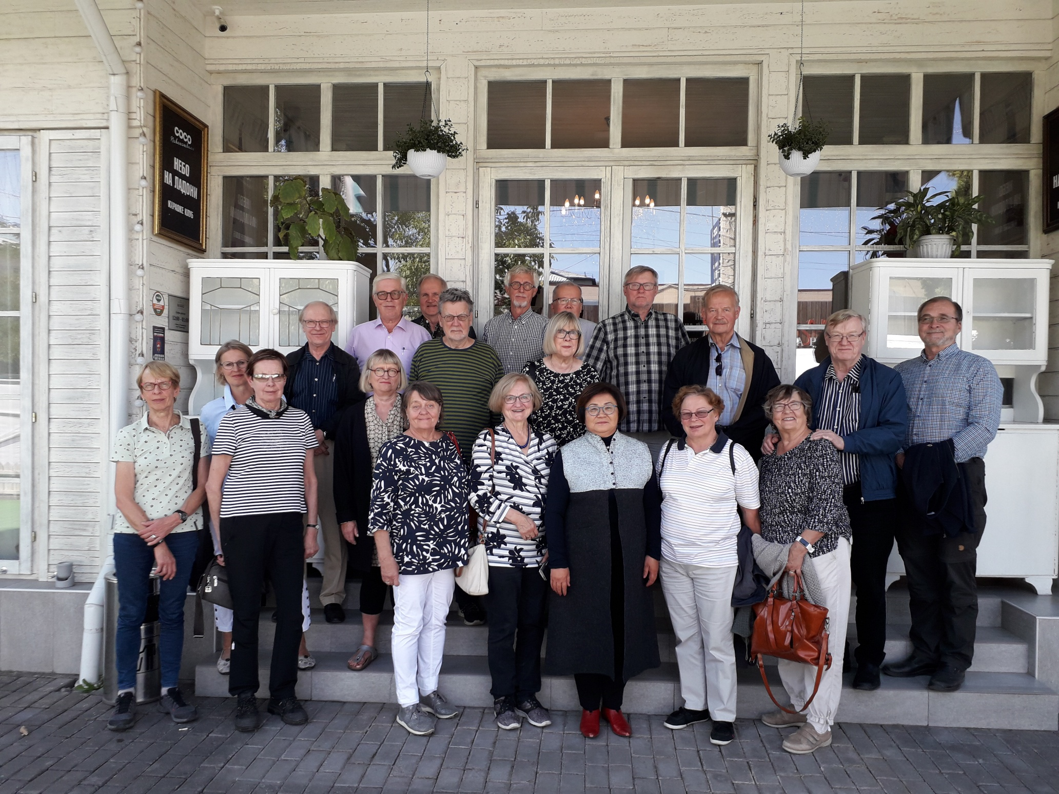 Gruppfoto från Kazakstan.