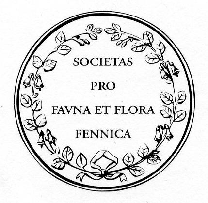 Societas pro Fauna et Flora Fennican logo.
