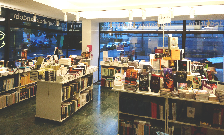 Tiedekirjan myymälä