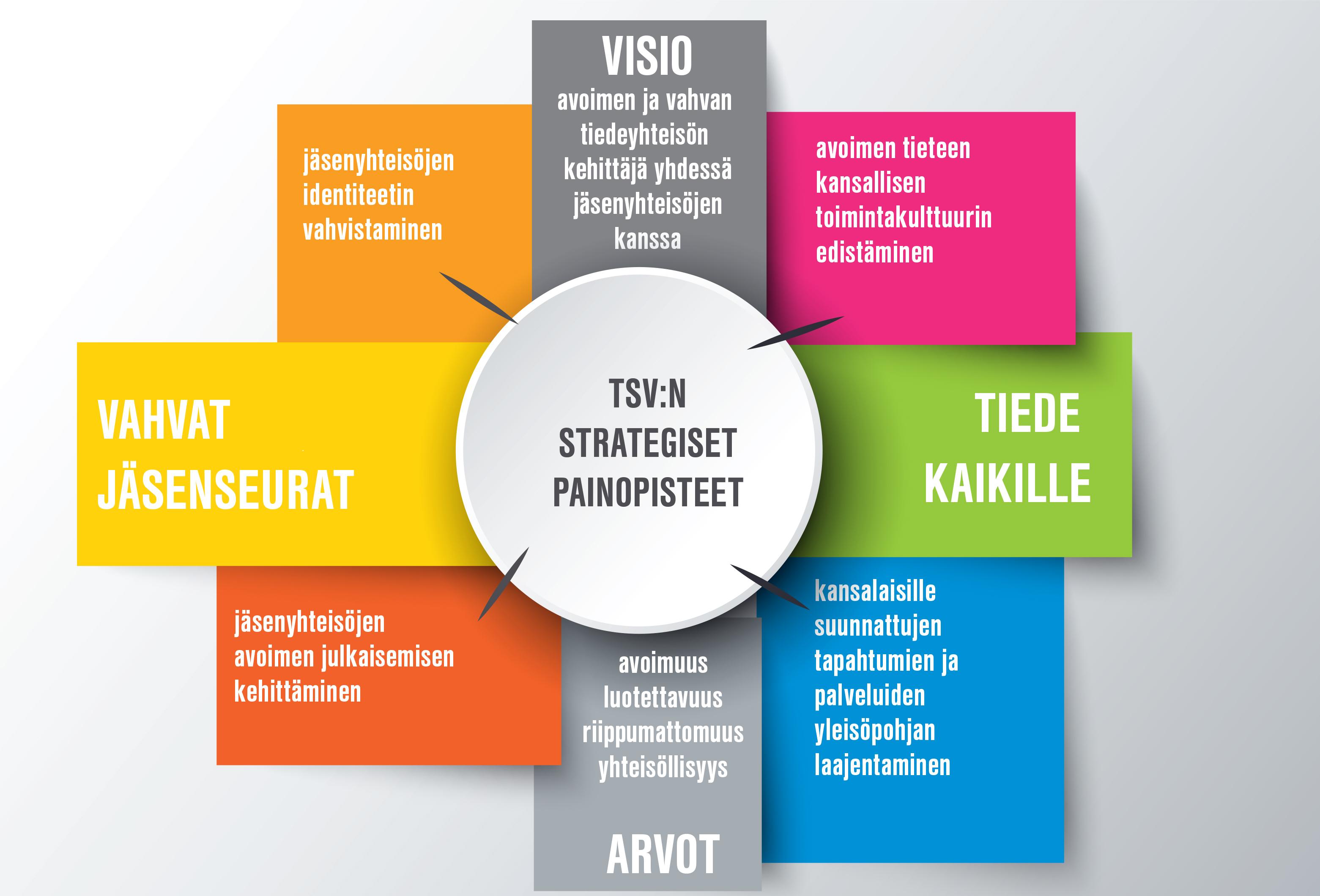 TSV:n strategian kuvake.