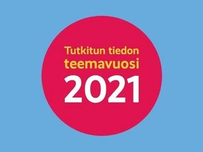 Tutkitun tiedon teemavuoden logo.