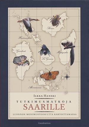 Tutkimusmatkoja saarille -kirjan kansikuva